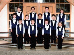 Cadet Choir group photo