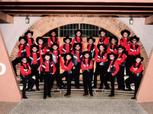 Group photo of the Touring Chorus
