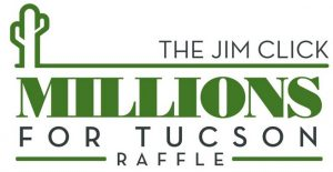 Jim Click Millions for Tucson raffle logo